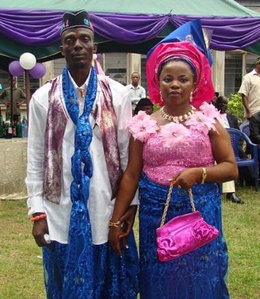 Свадьба в Нигерии